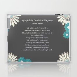 Like A Baby Cradled In His Arms Laptop & iPad Skin