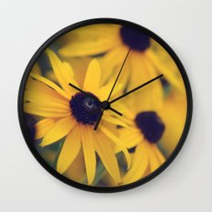 Happiness lies within Wall Clock