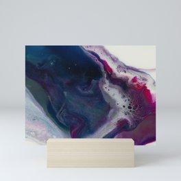 In Bloom - Resin art Mini Art Print