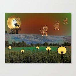 Visitation - A Lampscape Canvas Print