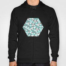 Hexagon(blue) #1 Hoody
