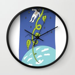 Jack and the Genetically Modified Beanstalk Wall Clock