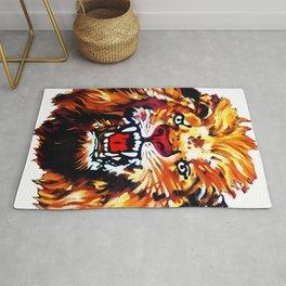 Lion of Igbo  Rug