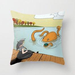 Make Believe Throw Pillow