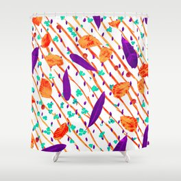 Natural Pattern #7 Shower Curtain