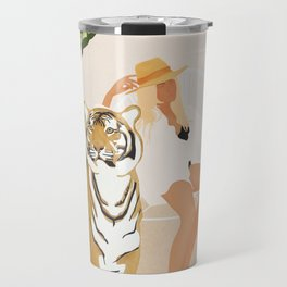 The Lady and the Tiger Travel Mug