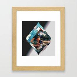 """""""Planet Diamond"""" Framed Art Print"""