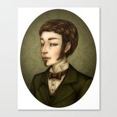 Vampire Gentleman Canvas Print
