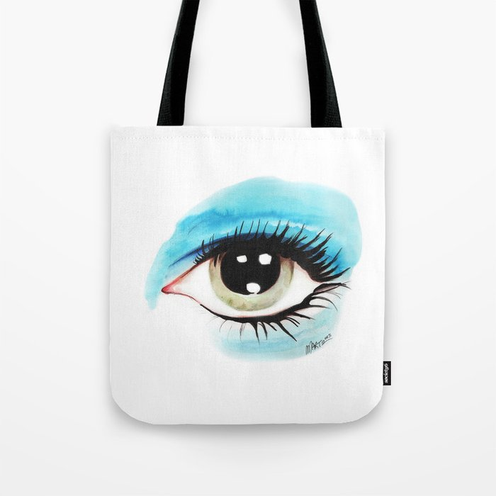 Bowie - Life on Mars? (Left Eye) Tote Bag