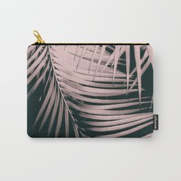 Palm Leaves Summer Night Vibes #2 #tropical #decor #art #society6 Carry-All Pouch