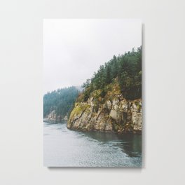 Ferry to Victoria, BC Metal Print