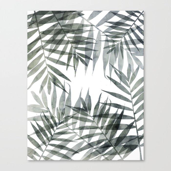 Tropicana Love Canvas Print