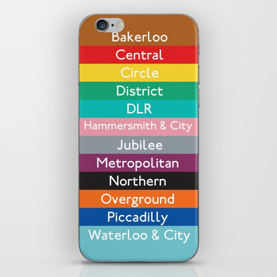 London Underground iPhone & iPod Skin
