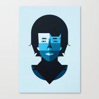 bob dylan Canvas Prints featuring Bob Dylan by rubenmontero