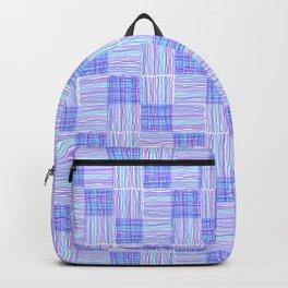 Interpretive Weaving (Cool Breeze) Backpack