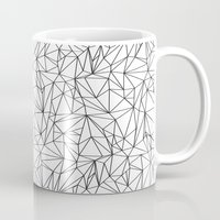 the wire Mugs featuring Geometric Wire by Maiko Nagao