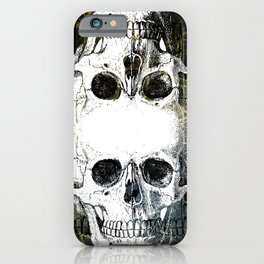 Skull Graffiti 1.0 iPhone Case
