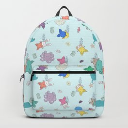 Meranimals and sea friends Backpack