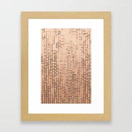 GLITCH 3 Framed Art Print