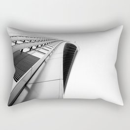Skygarden Exterior London Architecture BW Rectangular Pillow