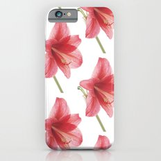 Amaryllis pattern iPhone 6s Slim Case