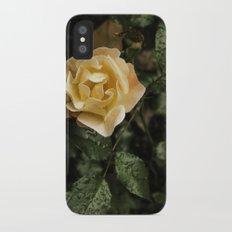 Rose 1 iPhone X Slim Case