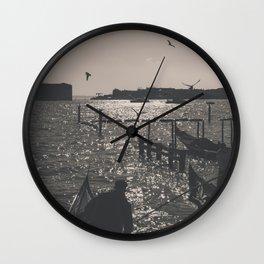 Venice landscape Wall Clock