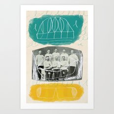 Winners in the Fifth Olympiad Art Print