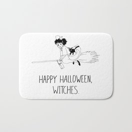 Happy Halloween, Witches! Bath Mat
