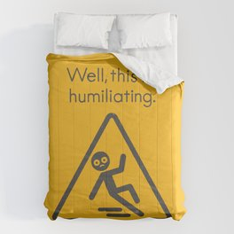 Schadenfreudian Slip Comforters
