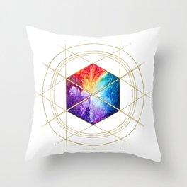 Nebula Titan Sigil Throw Pillow