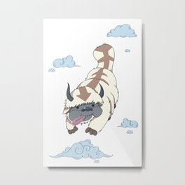 The Last Flying Air Bison - Appa Metal Print