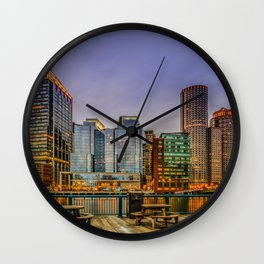 Boston Financial District Wall Clock