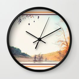 049 | hill country Wall Clock