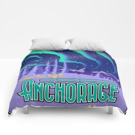 Landmarks of Life: Anchorage, Alaska Comforters