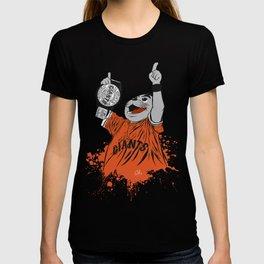 Lou Seal Victory Pose T-shirt