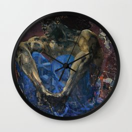 Mikhail Vrubel - Demon Wall Clock