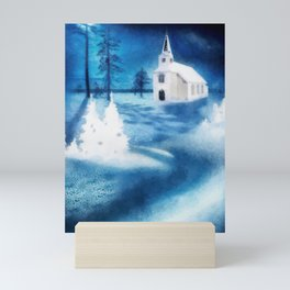 Christmas Serenade Mini Art Print