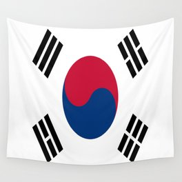 Flag of South Korea Wall Tapestry