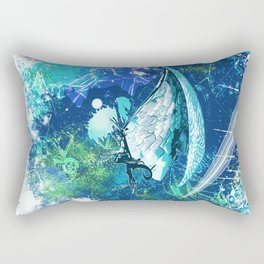 Heaven Beats Rectangular Pillow