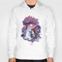 the last unicorn Hoodies featuring Last Unicorn + Dan Avidan by Stephanie Kao
