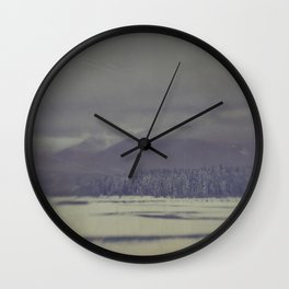 Brisk winter morning Wall Clock