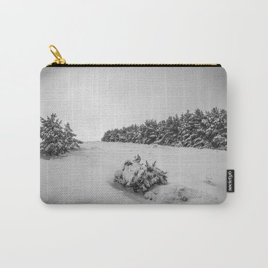 """""""Sierra Nevada"""" . Into the woods. BW Carry-All Pouch"""
