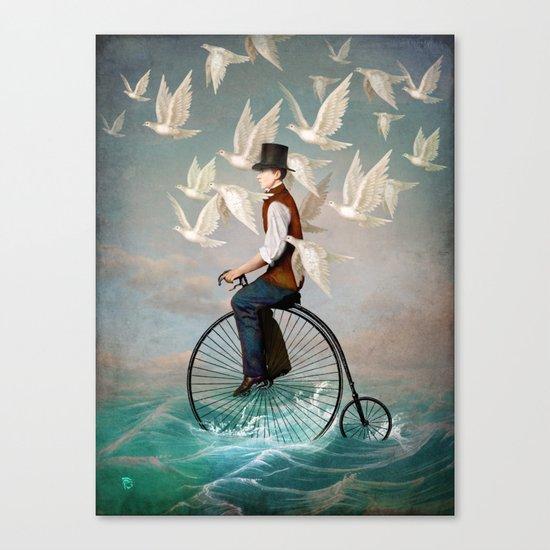 Ocean Ride Canvas Print