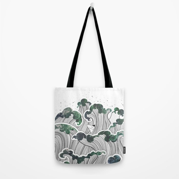 Storming mind | White Tote Bag