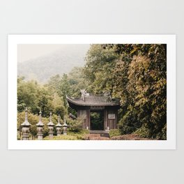 Hidden China Art Print