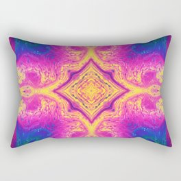Psychedelic Three Rectangular Pillow
