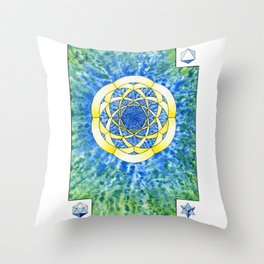 Hexegesis - Study I Throw Pillow