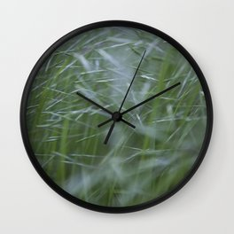 Grass abstract Wall Clock