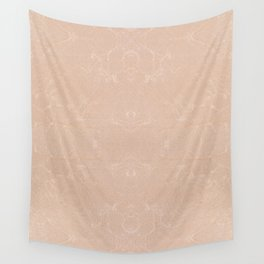 Ecru canvas cloth texture abstract Wall Tapestry